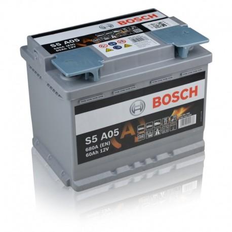 Μπαταρία Αυτοκινήτου Bosch S5A05 12V 60Ah 680A - AGM -START.STOP