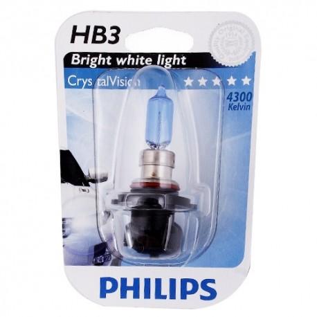 ΛΑΜΠΑ PHILIPS HB3 12,8V 65W CRYSTAL VISION 4300K