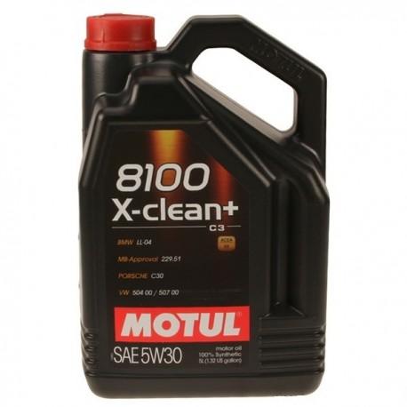 ΛΙΠΑΝΤΙΚΟ ΚΙΝΗΤΗΡΑ MOTUL 8100 X-CLEAN +5W30 C3 5LT