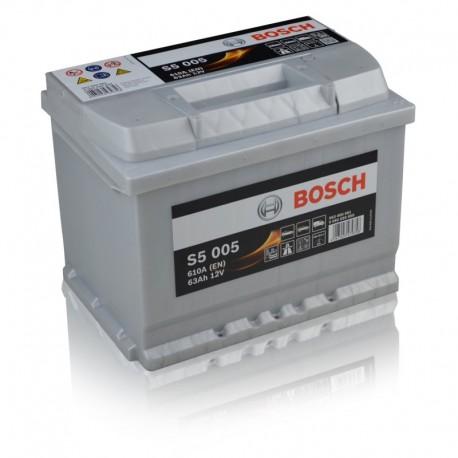 Μπαταρία Αυτοκινήτου Bosch S5005 12V 63AH-610EN