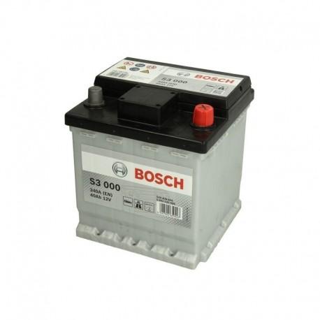 Μπαταρία Αυτοκινήτου Bosch S3000 12V 40AH-340EN