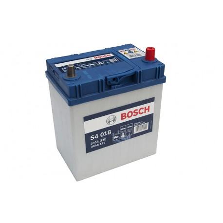 Μπαταρία Αυτοκινήτου Bosch S4018 12V 40AH-330EN