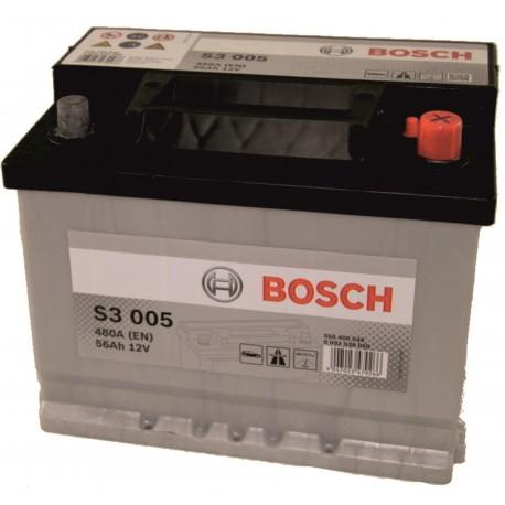 Μπαταρία Αυτοκινήτου Bosch S3005 12V 56AH-480EN