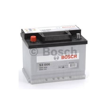 Μπαταρία Αυτοκινήτου Bosch S3006 12V 56AH-480EN