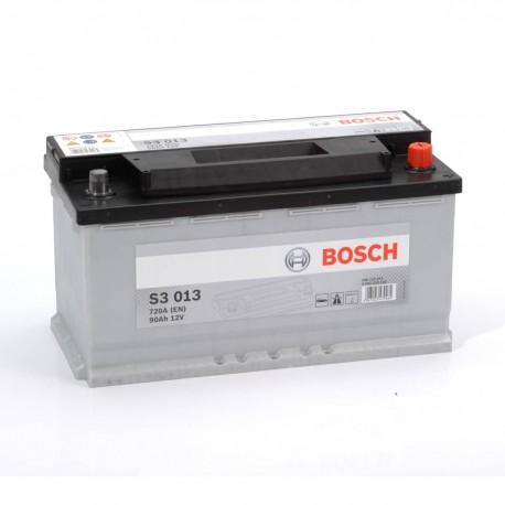 Μπαταρία Αυτοκινήτου Bosch S3013 12V 90AH-720EN