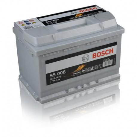 Μπαταρία Αυτοκινήτου Bosch S5008 12V 77AH-780EN