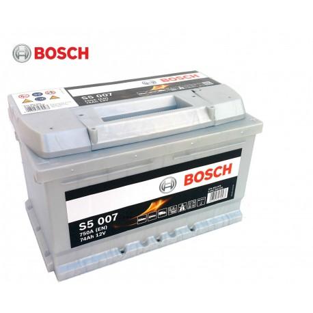 Μπαταρία Αυτοκινήτου Bosch S5007 12V 74AH-750EN