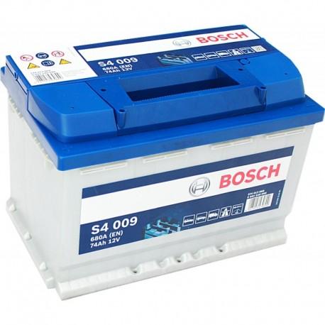 Μπαταρία Αυτοκινήτου Bosch S4009 12V 74AH-680EN
