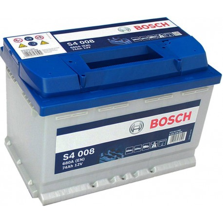 Μπαταρία Αυτοκινήτου Bosch S4008 12V 74AH-680EN