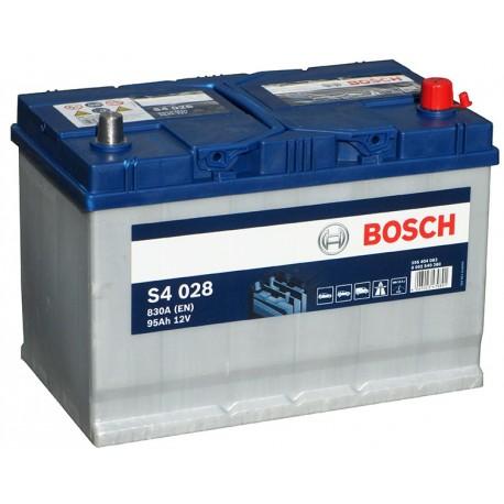 Μπαταρία Αυτοκινήτου Bosch S4028 12V 95AH-830EN