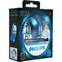 ΛΑΜΠΕΣ PHILIPS H7 Color Vision 12V 55W Blue +60% ΠΕΡΙΣΣΟΤΕΡΟ ΦΩΣ