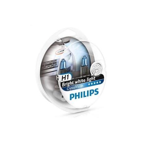 ΛΑΜΠΕΣ PHILIPS H1 12V 55W CRYSTAL VISION 4300K