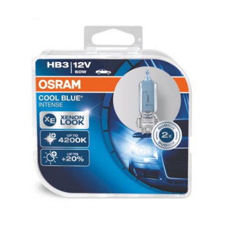 ΛΑΜΠΕΣ OSRAM HB3 12V 60W COOL BLUE® INTENSE