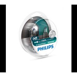 ΛΑΜΠΕΣ PHILIPS H1 12V 55W X-TREME VISION 130 % ΠΕΡΙΣΣΟΤΕΡΟ ΦΩΣ