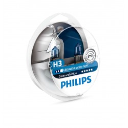 ΛΑΜΠΕΣ PHILIPS H3 DIAMOND VISION 12V 55W 5000K