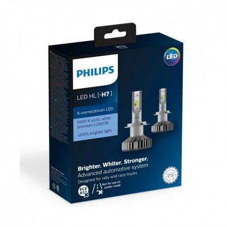ΛΑΜΠΕΣ PHILIPS H7 X-TREME VISION LED 12V