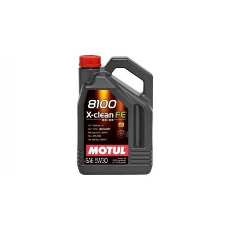 ΛΙΠΑΝΤΙΚΟ ΚΙΝΗΤΗΡΑ MOTUL 8100 X-clean FE 5W30 5LT