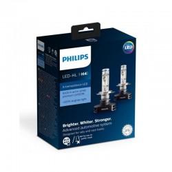 ΛΑΜΠΕΣ PHILIPS ΤΥΠΟΥ H4 X-TREME ULTINON LED 12V 23W 6500K