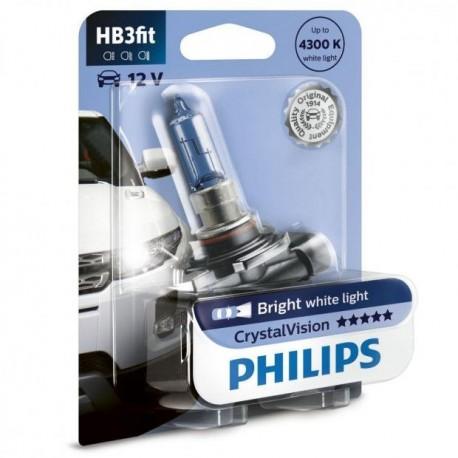 ΛΑΜΠΑ PHILIPS HB3 12V 60W CRYSTAL VISION 4300K