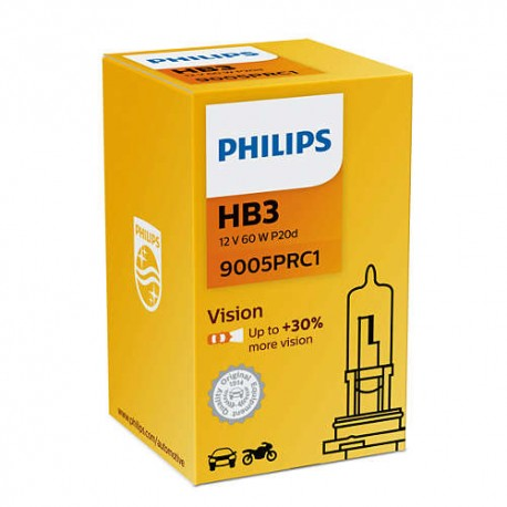 ΛΑΜΠΑ PHILIPS HB3 VISION 12V 65W