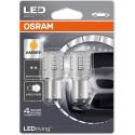 ΛΑΜΠΕΣ OSRAM P21/5W 12V 3W LEDriving® AMBER