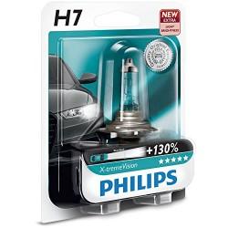 ΛΑΜΠΑ PHILIPS H7 12V 55W X-TREME VISION +130% ΠΕΡΙΣΣΟΤΕΡΟ ΦΩΣ