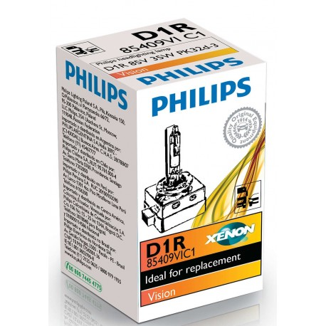ΛΑΜΠΑ PHILIPS XENON D1R VISION 85V 35W [REFLECTOR]