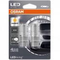 ΛΑΜΠΕΣ OSRAM P27/7W 12V 3W LEDriving® AMBER