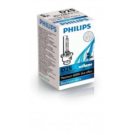 ΛΑΜΠΑ PHILIPS D2S XENON 85V 35W BLUE VISION ULTRA 6000K