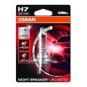 ΛΑΜΠΑ OSRAM H7 12V 55W NIGHT BREAKER® UNLIMITED