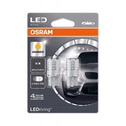 ΛΑΜΠΕΣ OSRAM W21/5W 12V 1W LEDRIVING® AMBER