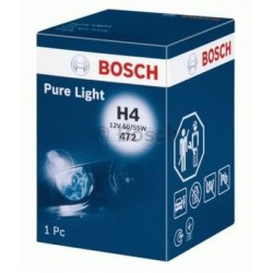 ΛΑΜΠΑ BOSCH H4 12V 60/55W PURE LIGHT