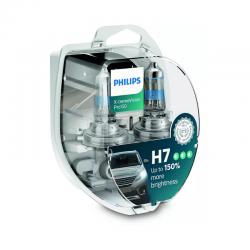 Λάμπες Philips H7 X-treme Vision Pro150 12V 55W Έως 150% Περισσ.Φως 12972XVPS2