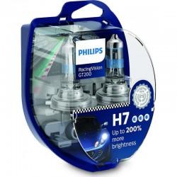 Λάμπες Philips Η7 Racing Vision GT200 12V 55W Έως 200% Περισσ.Φως 12972RGTS2