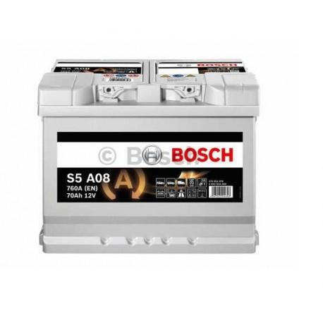 Μπαταρία Αυτοκινήτου Bosch S5A08 12V 70Ah 760A - AGM -START.STOP